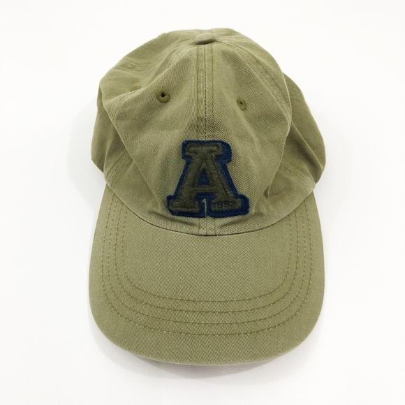 b1cc6c2e16918 Abercrombie   Fitch Green Baseball Cap   Hat